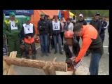 День лесоруба в Дивногорске
