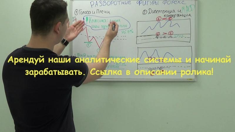 РАЗВОРОТНЫЕ фигуры форекс - голова и плечи, дивергенция и конвергенция