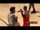 Dwyane Wade Justise Winslow Get Into It Bulls vs Heat November 10 2016 2016 17 NBA Season