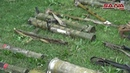 Боеприпасы и оружие захваченное у террористов в восточной части Гуты и в сельской местности Хомс, Хама, Дараа и Кунейтра