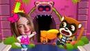 ГОВОРЯЩИЙ ТОМ ЗА ЗОЛОТОМ Анджела Хэнк Бен и Джинджер мультик игра видео для детей Talking Tom