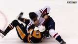 Oshie, Letang throw punches, Guentzel parks puck in empty net
