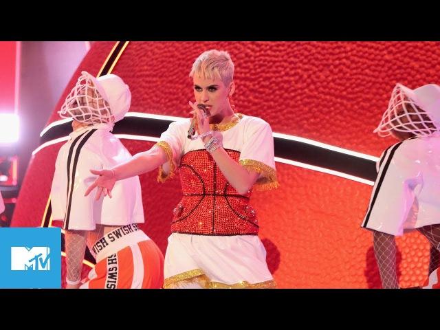 Katy Perry Ft Nicki Minaj Perform 'Swish Swish' | VMAs 2017