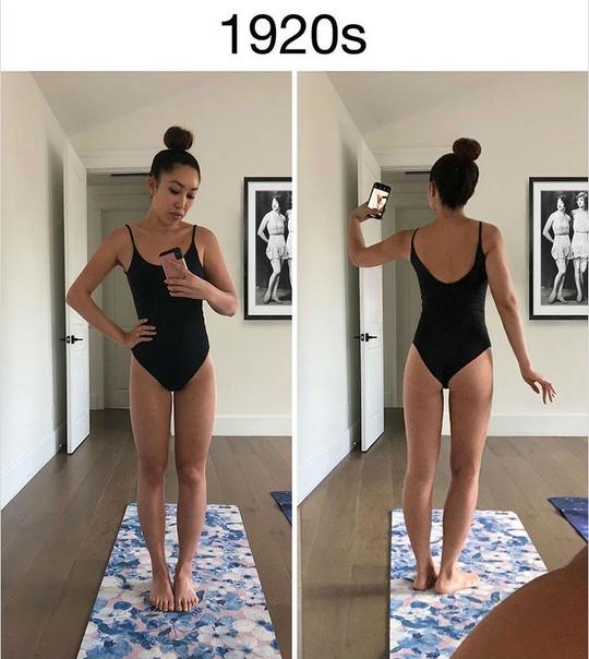 «Идеальное тело — это только настоящая я»: фитнес-блогер показала на примере своей фигуры стандарты красоты разных эпох Говорят, красота в глазах смотрящего, но в наше время этому перестаешь