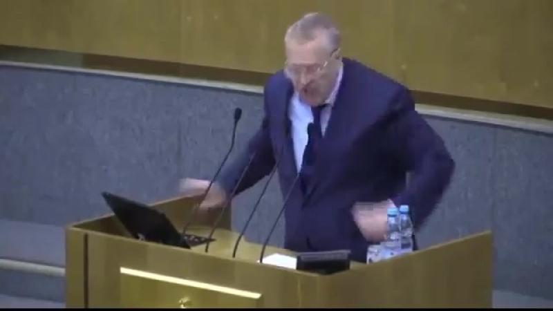 Жириновский «Я вас буду расстреливать и вешать!»