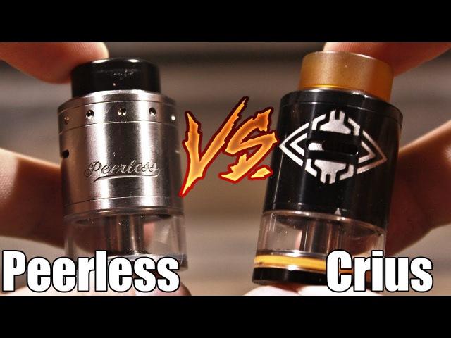 Peerless RDTA VS Crius RDTA ▲▼ Есть что сравнить