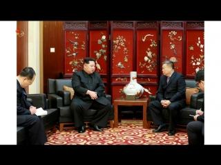 경애하는 최고령도자 김정은동지께서 우리 나라에 온 중국관광객들속에서 인명피해사고가 발생한것과 관련하여 우리 나라 주재 중화인민공화국대사관을 위문방문하시고 병원을 찾으시여 부상자들을 따뜻이 위로하시였다