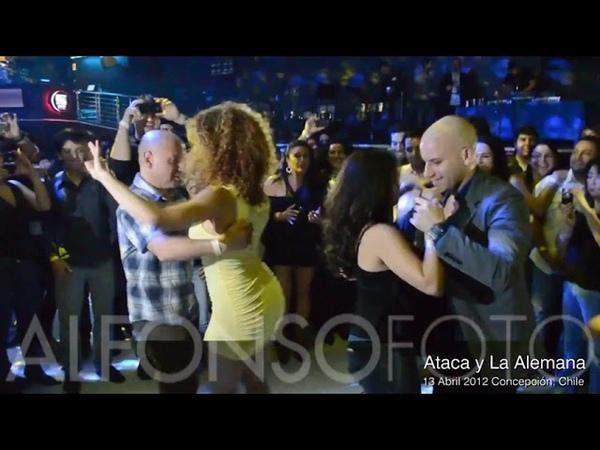 Вау..... Танцуют Жорж Атака и.... Таня Ла Алемана......аж в 2012 году