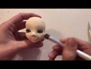How to make eyes and make up explained step by step