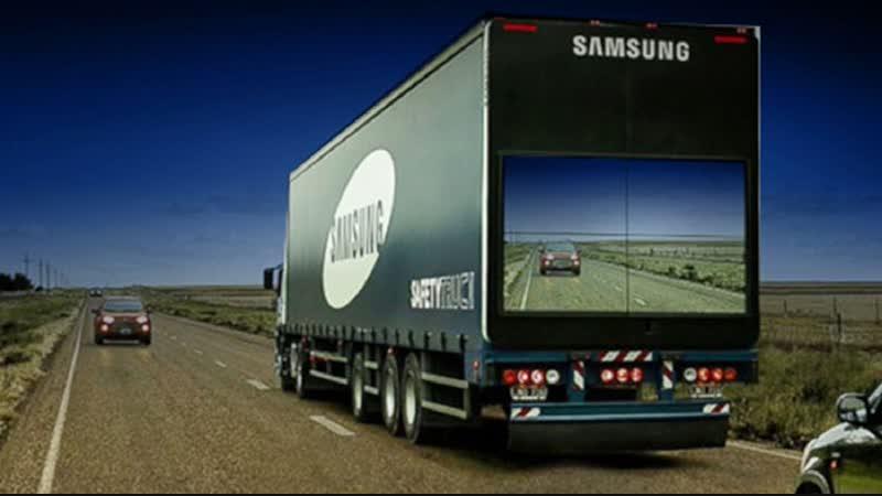 Samsung The Safety Truck Прозрачный грузовик