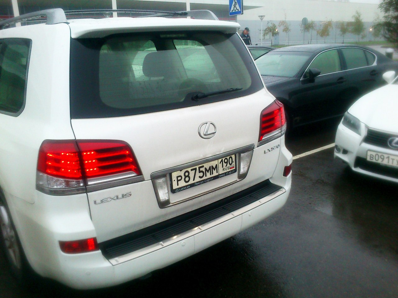 Мощная попа Lexus LX 570 2012