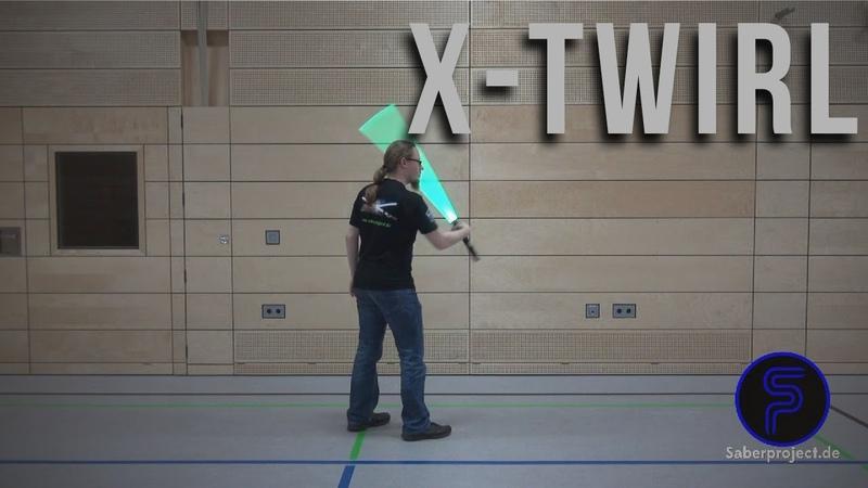 X-Wirbel - X-Twirl - Single Lightsaber Trick