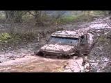 Бездорожье  Внедорожник NISSAN  На полную мощь Off road  SUV NISSAN  At full power