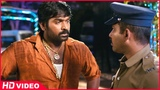 Thirudan Police Tamil Movie - Rajendran escapes from Attakathi Dinesh