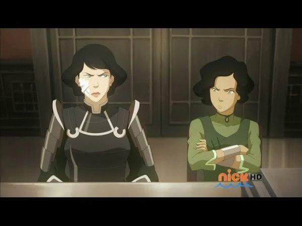 LOK S03E06: Lin and Suyin Beifong