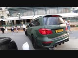 CRAZY Brabus GL700 B63S Start, LOUD Revs and Accelerations