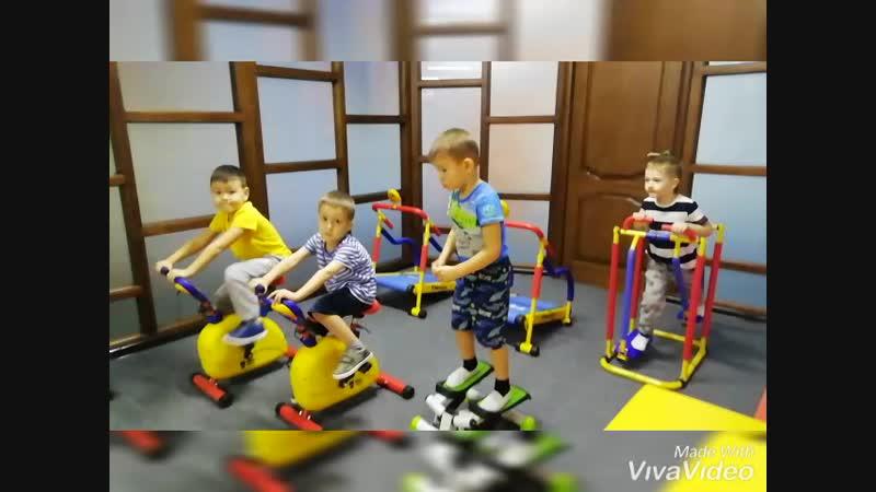 Детская оздоровительная секция. Фитнес-центр Зожников