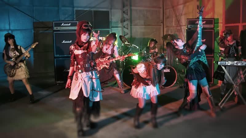 Headless Goddess All-female stempunk heavy metal band FATE GEAR