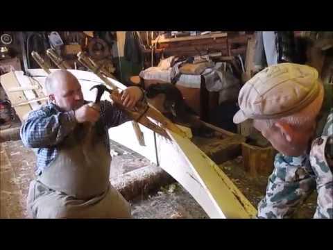 Юшкозерские ремёсла Veneh калевальская лодка Часть2