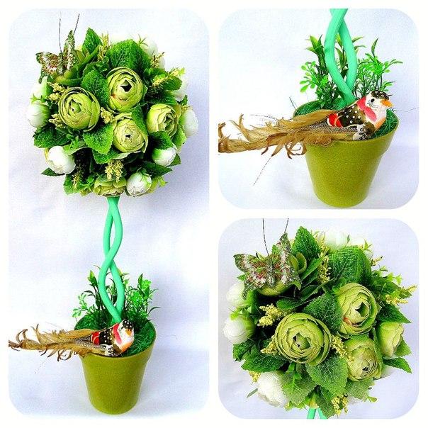 Топиарии из зелени