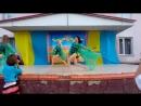 Танцювальний ансамбль Вигодянського СБК Black Sea керівник Орлова М Ю на святкуванні Дня Конституції в м Роздільна