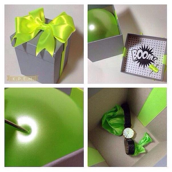 Как оригинально подарить подарок. (1 фото) - картинка