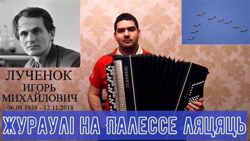 Игорь Лученок - Жураўлі на Палессе ляцяць (баян)