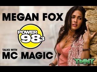 Megan Fox talks fainting, TMNT, Wiz Khalifa, hip hop w/ MC Magic