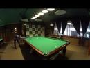 Прямой дуплет Бориса в партии по московской пирамиде, русский бильярд - YouTube 360p