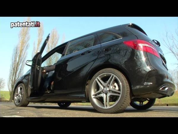 Mercedes Classe B 200 CDI 4MATIC - Test Drive