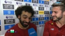 Mohamed Salah Adam lallana Post interview Huddersfield 0 1 Liverpool