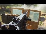 50 Cal Gunner Hammers Taliban Positions During Ambush