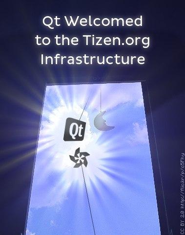 Qt пожаловал в инфраструктуру Tizen.org