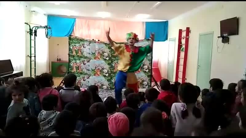 Сегодня в детском саду Солнышко выступила цирковая труппа