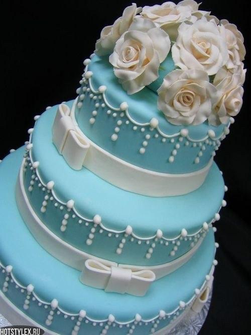 Красивые торты на свадьбу фото