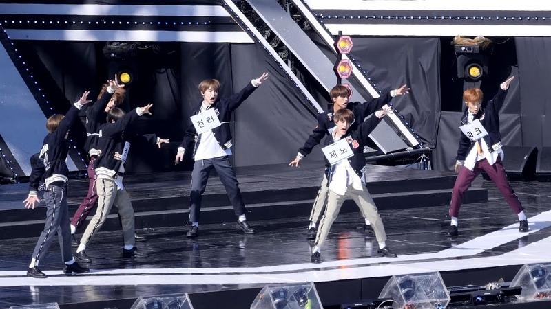 181104 엔시티드림 NCT DREAM We Go Up 리허설 Rehearsal 4K 직캠 @ 제주 한류 페스티벌 by Spinel