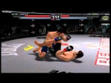 Bellator: MMA Onslaught XBOX 360 Gameplay