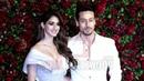 Tiger Shroff With Girlfriend Disha Patani At Ranveer - Deepika Grand Reception DeepVeer
