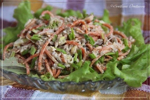 Салат простой из куриной печени рецепты с простые и вкусные