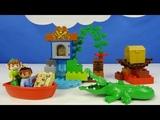 Строим из Lego Duplo, Unboxing, LEGO DUPLO 10526 Peter Pan's Visit - Питер Пэн в гостях у Джейка