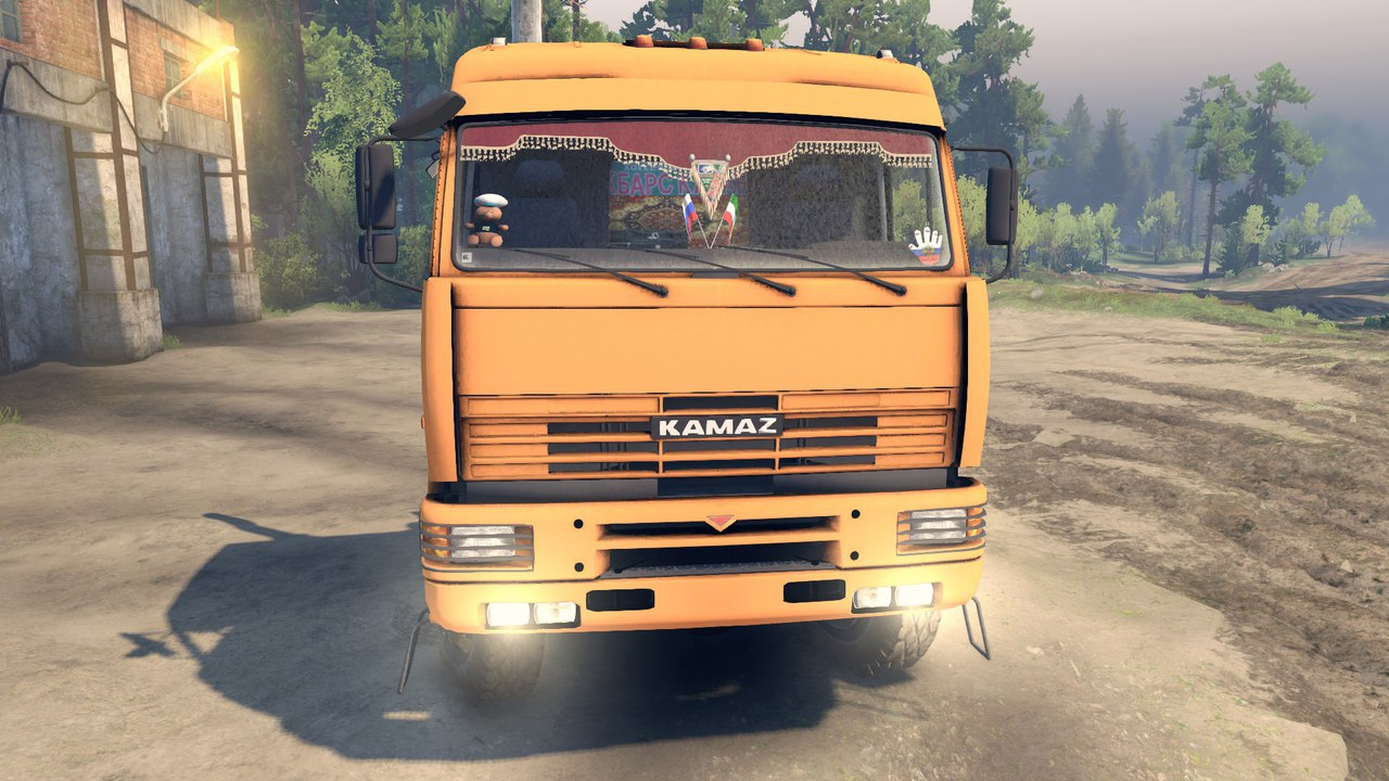 Kamaz 65221 для Spintires - Скриншот 1