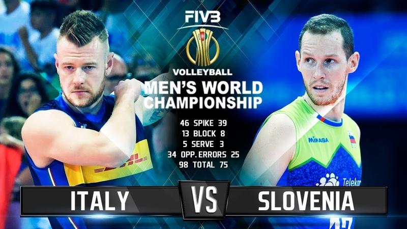 Italy vs. Slovenia | Highlights | Mens World Championship 2018