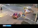 Тройное ДТП на перекрестке в Рыбинске