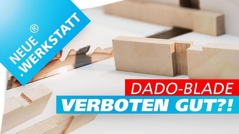 🔥 Dado Blade Schiebeschlitten 🔥 JIG für Nut Falz an Tischkreissäge selber bauen DIY für Kreissäge