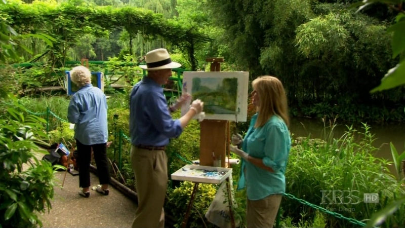 Landscapes Through Time With David Dunlop - 102 - Monets Waterlily Garend in Giverny, France