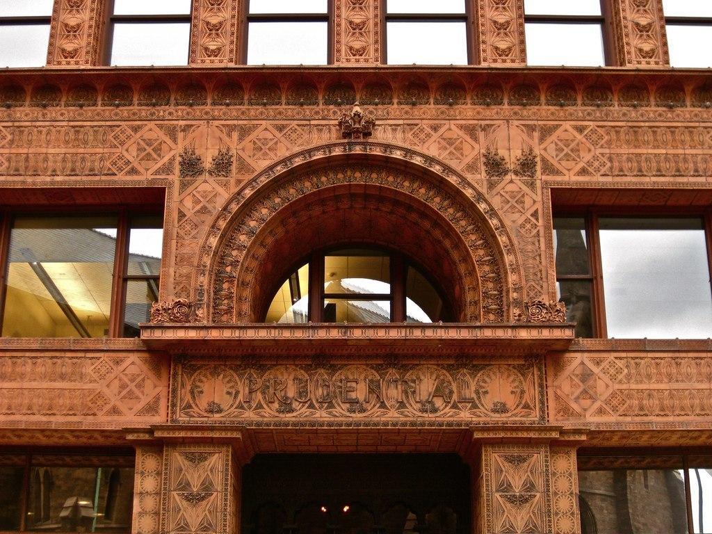 Здание Гаранти-билдинг в Буффало входит в число знаменитых зданий, созданных архитектором Луисом Генри Салливаном.