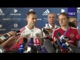 Пресс-конференция сборной России по футболу