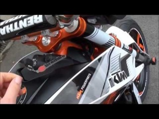 New 2012 KTM Duke 690 IV Powerparts Edition