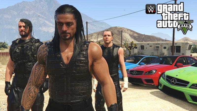 THE SHIELD JOIN SWAT TEAM ELITE | GTA 5 WWE MODS (Roman Reigns, Seth Rollins Dean Ambrose)