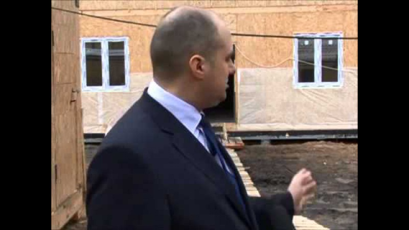 Строительство многоквартирного дома по технологии SIPwall (ЭКОПАН) - Новости Родники 22 апреля 2013